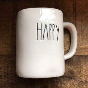 Rae Dunn Large Letter Happy Halloween Mug